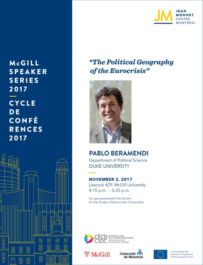 EU Speaker Series: Pablo Beramendi