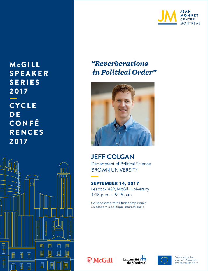 EU Speaker Series - Jeff Colgan