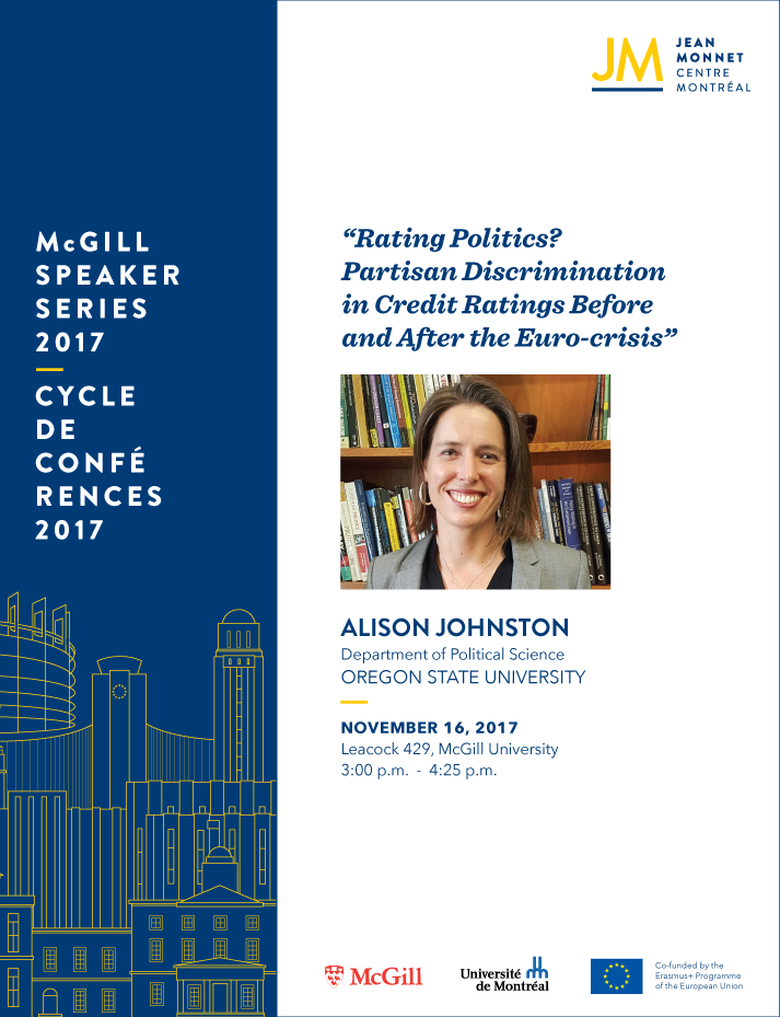 EU Speaker Series: Alison Johnston
