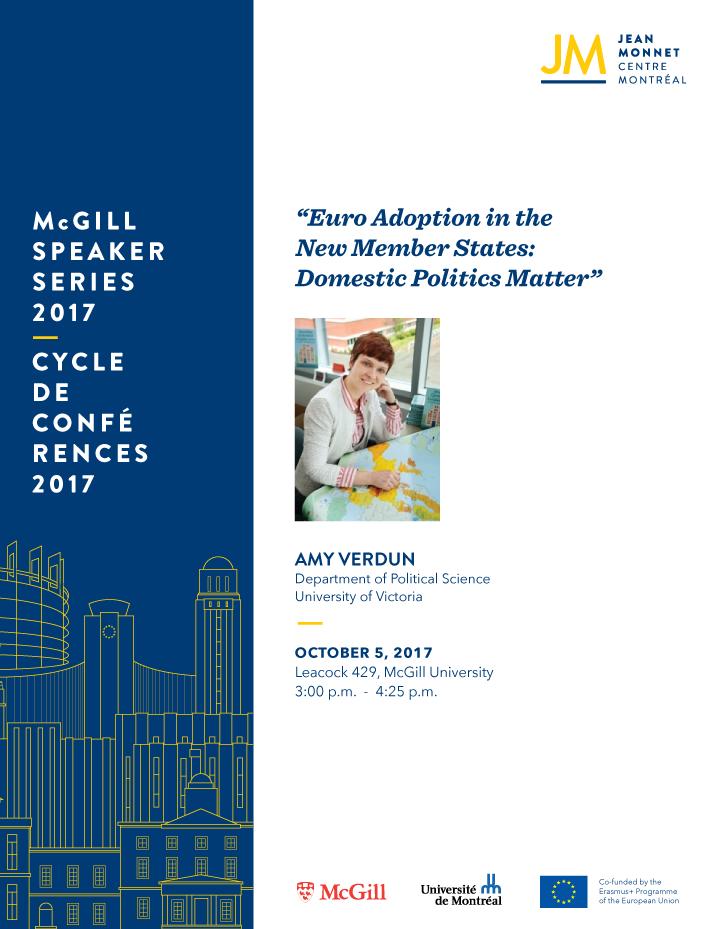 Amy Verdun EU Speaker Series